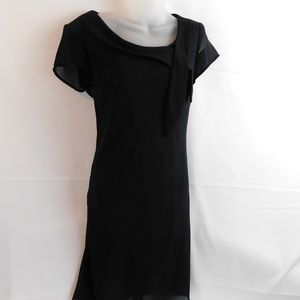 Fashion Bug Womens Dress Size 6 Black Lined